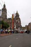 Glasgow se transforma en una película fijada para la guerra mundial Z Imágenes de archivo libres de regalías
