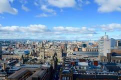 Glasgow Skyline Immagini Stock Libere da Diritti
