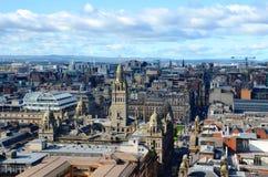 Glasgow Skyline immagini stock