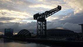 Glasgow Skyline Photographie stock