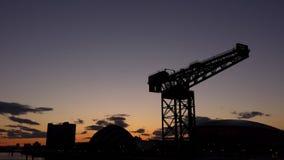 Glasgow Skyline Imagenes de archivo