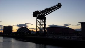 Glasgow Skyline Stockfoto