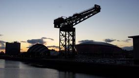Glasgow Skyline Foto de archivo