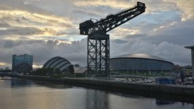 Glasgow Skyline Photo libre de droits