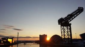Glasgow Skyline Stock Photography