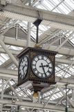 Glasgow station clock Stock Photos