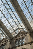 Glasgow station roof Stock Image