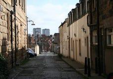 Glasgow street scene Royalty Free Stock Photo