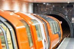 Glasgow subway, Scotland stock photos