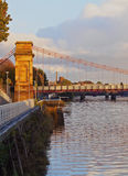 Glasgow Suspension Bridge Stock Photos