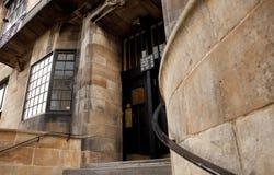 Glasgow, Szkocja, UK, Wrzesie? 2013 Charles Rennie Mackintosh Glasgow szkoła sztuka zanim katastrofalny ogień który destroye zdjęcia stock