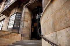 Glasgow, Szkocja, UK, Wrzesie? 2013, Charles Rennie Mackintosh Glasgow sztuka szko?a zanim katastrofalny ogie? kt?ry zdjęcia royalty free
