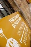 Glasgow, Szkocja, UK, Wrzesie? 2013, Charles Rennie Mackintosh Glasgow sztuka szko?a zanim katastrofalny ogie? kt?ry zdjęcie royalty free