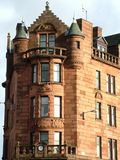 glasgow tenement Royaltyfri Bild