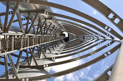 Glasgow Tower a different view Royalty Free Stock Images