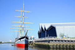 Glasgow Transport Museum Foto de archivo libre de regalías