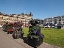 George Square in Glasgow Stock Photos