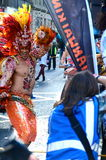 Brazilian dancer, Merchant City Festival, Glasgow Royalty Free Stock Images