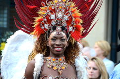 Brazilian dancer, Merchant City Festival, Glasgow Stock Photography
