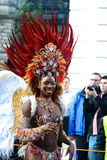 Brazilian dancer, Merchant City Festival, Glasgow Stock Image