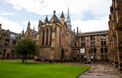 Glasgow University Stock Photography