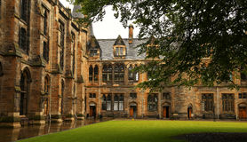 Glasgow University Stock Afbeeldingen