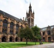 Glasgow University. East Quadrangle, Glasgow, UK Royalty Free Stock Images