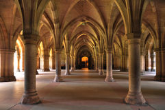 Glasgow University Main Building Inside Stock Photos