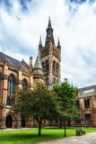 Glasgow University. The outside of Glasgow University in Scotland Royalty Free Stock Photo