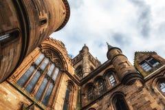 Glasgow University`s architectual details Royalty Free Stock Photography