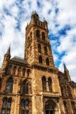 Glasgow University & x27; s-klockatorn Royaltyfri Foto