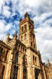 Glasgow University & x27; s-klockatorn Arkivfoton