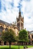 Glasgow University & x27; s-klockatorn Arkivbild