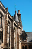 Glasgow University's tower. Built in the 1870s in the Gothic revival style Royalty Free Stock Image