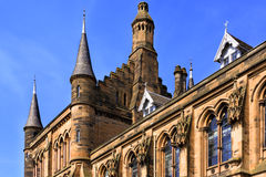 Glasgow University's towers Stock Image