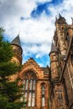 Glasgow University& x27;s architectual details Stock Photo
