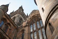 Glasgow Universitys bell tower Stock Photos
