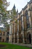 Glasgow Uniwersytecki Buduje Gilmorehill Glasgow Szkocja zdjęcia royalty free