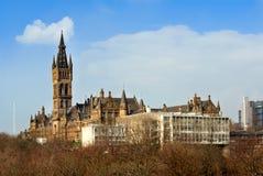 Glasgow Uniwersytecki budynek Zdjęcia Stock