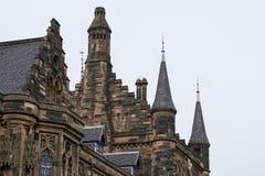 Glasgow uniwersytet Obrazy Royalty Free