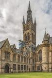 Glasgow uniwersytet Belltower Zdjęcia Royalty Free