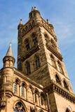 Glasgow uniwersytet góruje Obraz Royalty Free