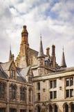 Glasgow uniwersyteta architektura Obraz Stock