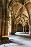 Glasgow uniwersyteta Cloisters Zdjęcia Royalty Free