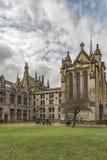 Glasgow uniwersyteta kaplica Zdjęcia Stock