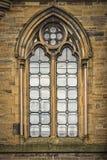 Glasgow Unversity łuku okno Obraz Royalty Free