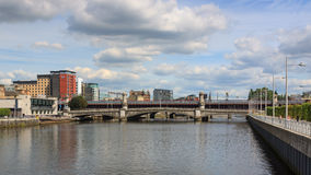 Glasgow Waterfront image stock