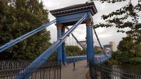 Glasgow Wooden Bridge photo libre de droits