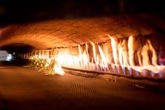 GlashütteHerstellungsverfahren Lizenzfreie Stockfotografie