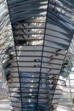 Glashaube des Reichstag Stockfotos